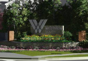 Attractive custom monument sign
